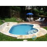acabamento borda piscina de vinil Parque São Rafael
