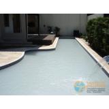 acabamento de área de piscina valor Piracicaba