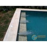 acabamento de piscina com deck Vila Anastácio