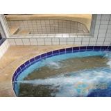 acabamento de piscina com piso orçamento Saúde