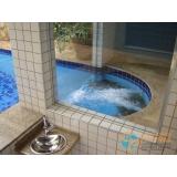 acabamento de piscina com piso valor Cidade Patriarca