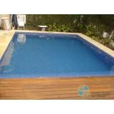 acabamento de piscina de fibra Amparo