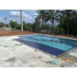 acabamento de piscina em madeira valor Sumaré