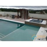 acabamento de piscina em madeira Interlagos