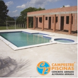 acabamento externo para piscinas preço Bom Jesus dos Perdões