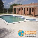 acabamento externo para piscinas preço Francisco Morato