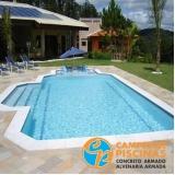 acabamento para área de piscina Ipiranga