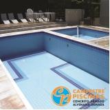 acabamento para borda de piscina de alvenaria preço Águas de São Pedro