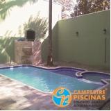 acabamento para borda de piscina de fibra preço Jardim Guedala