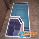 acabamento para borda de piscina de fibra Jardim Adhemar de Barros