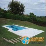 acabamento para piscina de alvenaria Laranjal Paulista