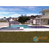 acabamento para piscina de fibra orçamento Taboão da Serra
