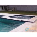 acabamento para piscina de fibra valor Parque Colonial
