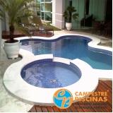 acabamento para piscina de vinil com borda infinita São Miguel Arcanjo