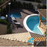 acabamento para piscina de vinil com deck Jardim Orly