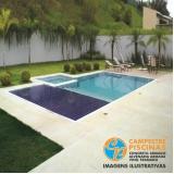 acabamento para piscina de vinil para chácaras Várzea Paulista