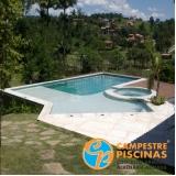 acabamento para piscina de vinil para clubes Araçatuba