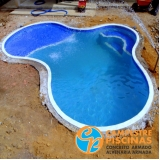 acabamento para piscinas de alvenaria Valinhos