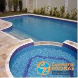 acabamento piscinas de fibra Tapiraí