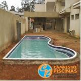 acabamentos para piscinas de alvenaria Pindamonhangaba