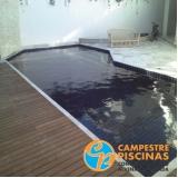 cascata de piscina com led preço Queluz