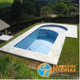 cascata de piscina de fibra preço Jardim São Luiz
