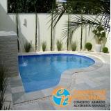 cascata de piscina de fibra Itanhaém