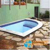 cascata de piscina de pedra preço Jandira