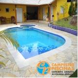 cascata de piscina de vidro preço Ipeúna