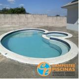 cascatas de piscina de fibra Dois Córregos