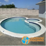 cascatas de piscina de fibra Charqueada