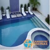 cascatas de piscina em acrilico Cesário Lange