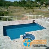 comprar cascata de piscina alvenaria Santos