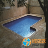 comprar cascata de piscina com led melhor preço Vila Alexandria