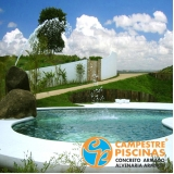 comprar cascata de piscina com led Socorro