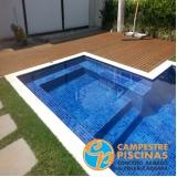comprar cascata de piscina com pedras valor Vila Maria