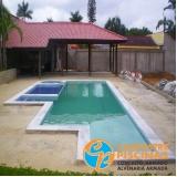 comprar cascata de piscina de alvenaria melhor preço Guararema