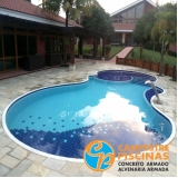 comprar cascata de piscina de fibra melhor preço Cursino