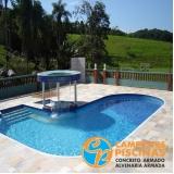 comprar cascata de piscina de fibra valor Praia Grande