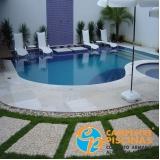 comprar cascata de piscina de pedra melhor preço Jardim Paulista