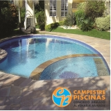 comprar cascata de piscina de vidro valor Araraquara