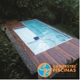 comprar cascata para piscina de alvenaria melhor preço Itanhaém