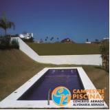 comprar cascata piscina alumínio melhor preço Jardins