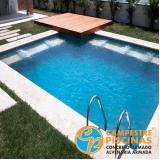 comprar cascata piscina alumínio São José do Rio Preto