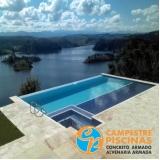 comprar piscina de concreto com sauna Guarujá