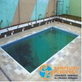 comprar piscina de concreto grande melhor preço Freguesia do Ó
