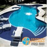 comprar piscina de concreto para clube melhor preço Araras