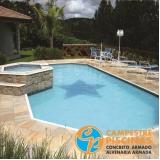 comprar piscina de concreto para condomínio melhor preço Vila Anastácio