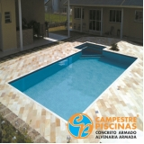 comprar piscina de concreto pequena Hortolândia
