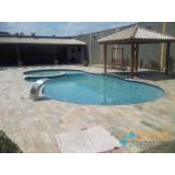 comprar piscina de fibra com borda sem fim Embu